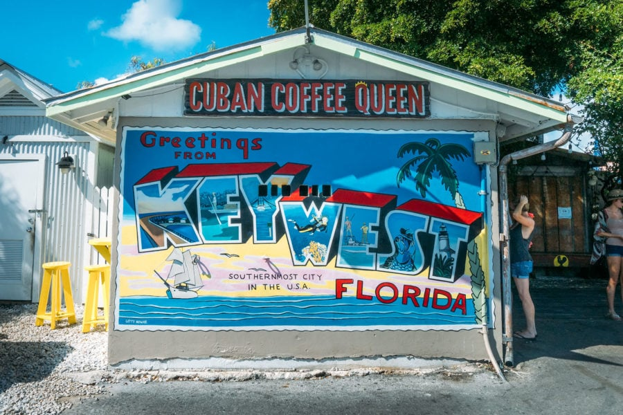 Key West Welcome Sign