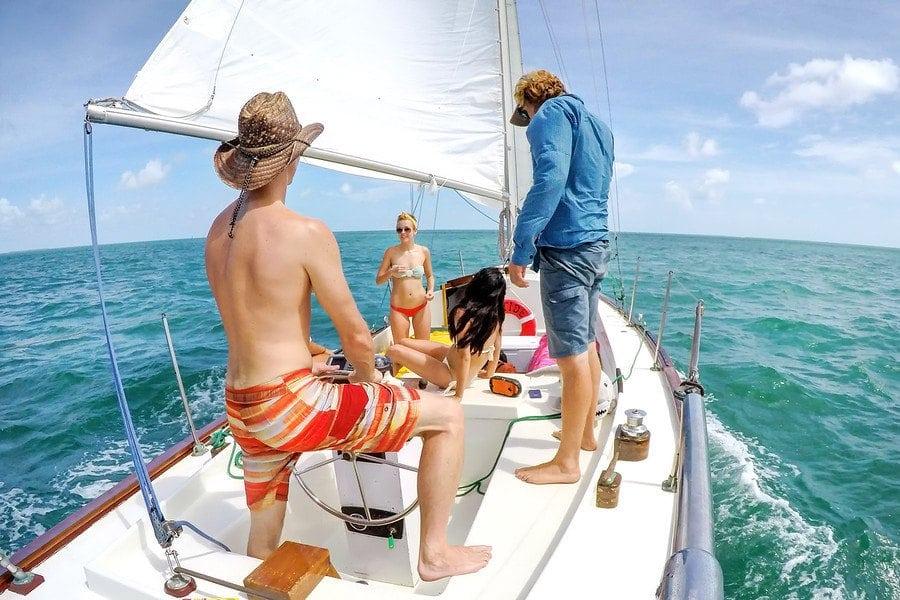keywest sailing boat