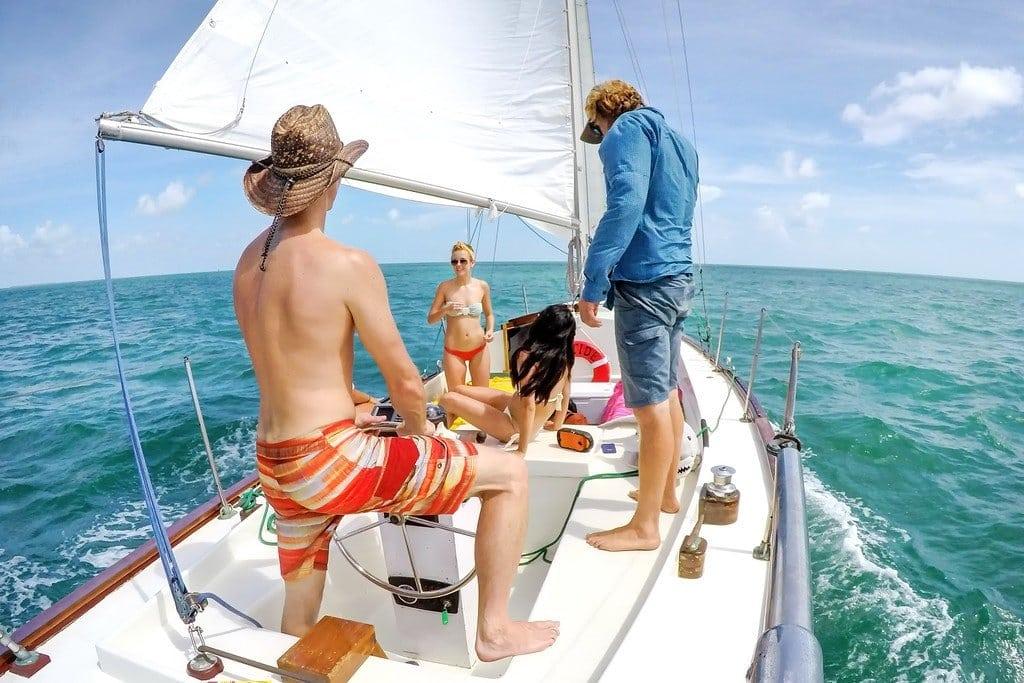 Sailing of the Coast of Key West
