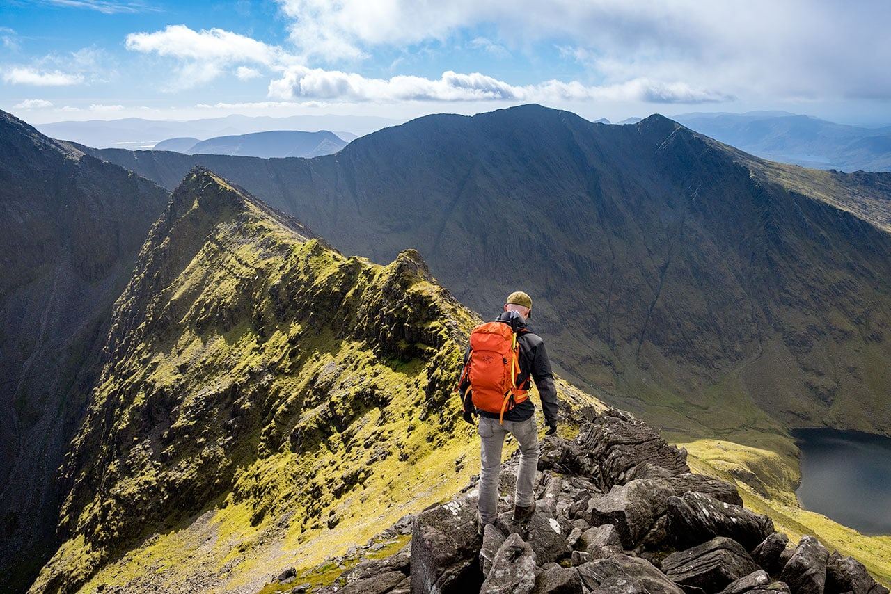 Hiking Carrauntoohil in Ireland