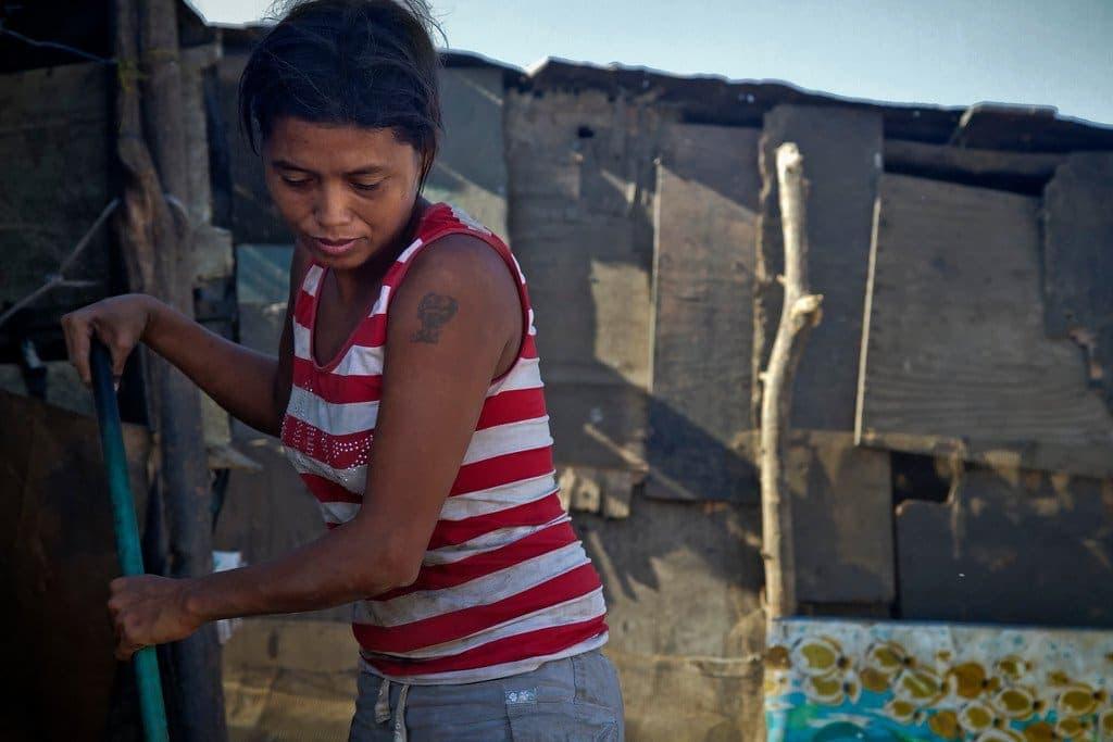 Managua Nicaragua La Chureca Woman
