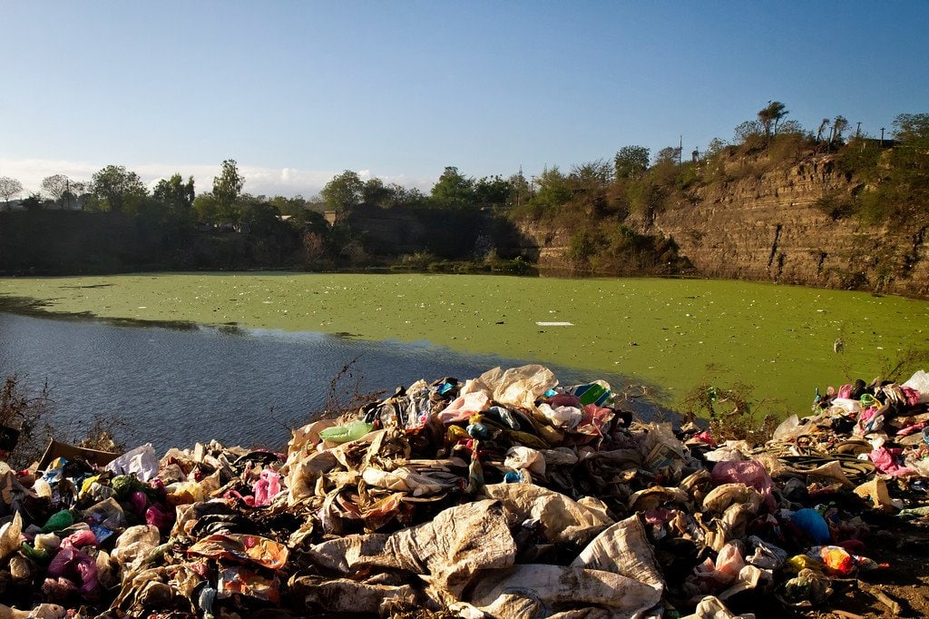 Managua Nicaragua La Chureca Dirty Water