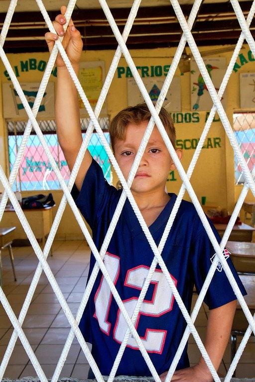 Managua Nicaragua La Chureca School Boy