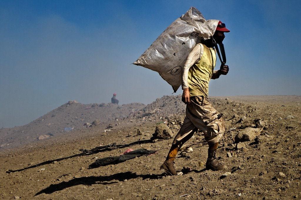 Managua Nicaragua La Chureca Worker