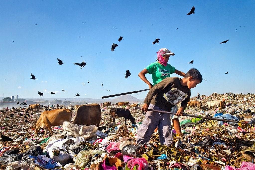 Managua Nicaragua La Chureca Scavengers