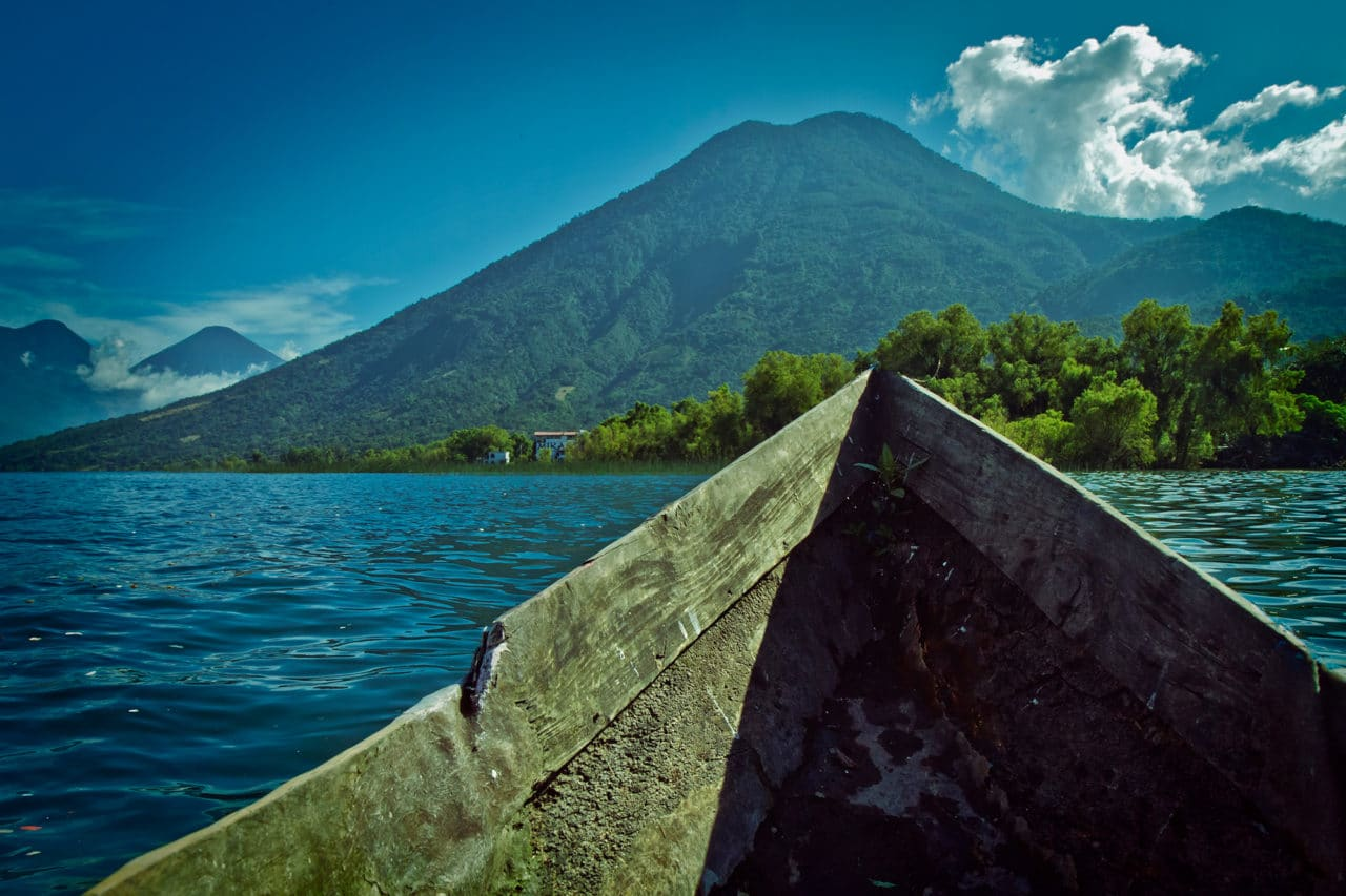 Lake Atitlan Water View