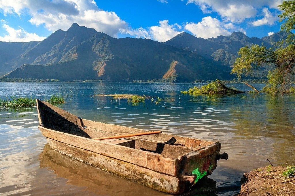 Lake Atitlan Canoe