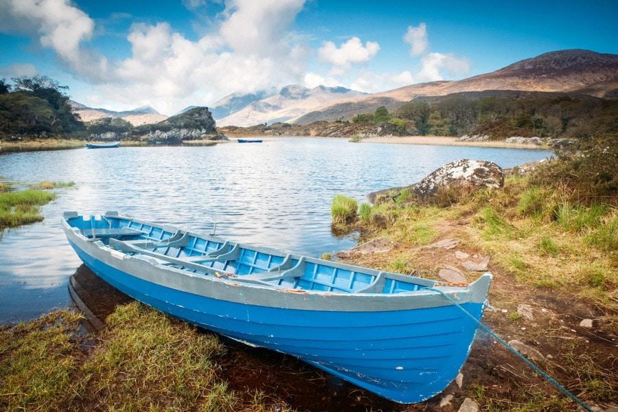 Row Boat on a Lake