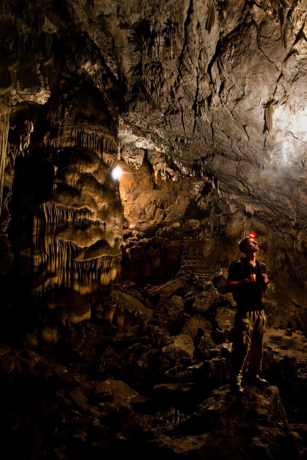 Lanquin Cave Chamber Guatemala