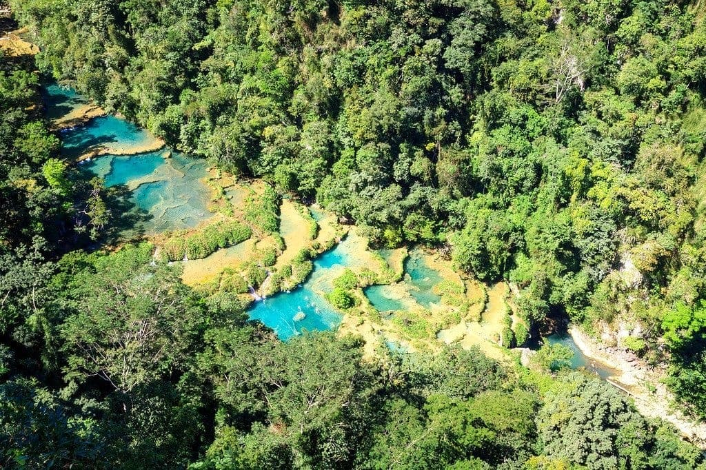 Swimming In Limestone Pools At Semuc Champey Expert Vagabond