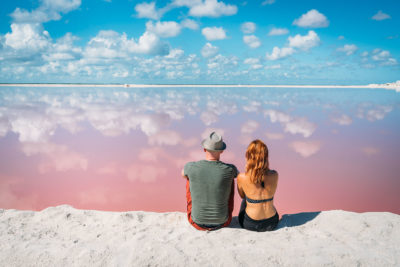 The Unbelievable Pink Lakes Of Las Coloradas In Mexico