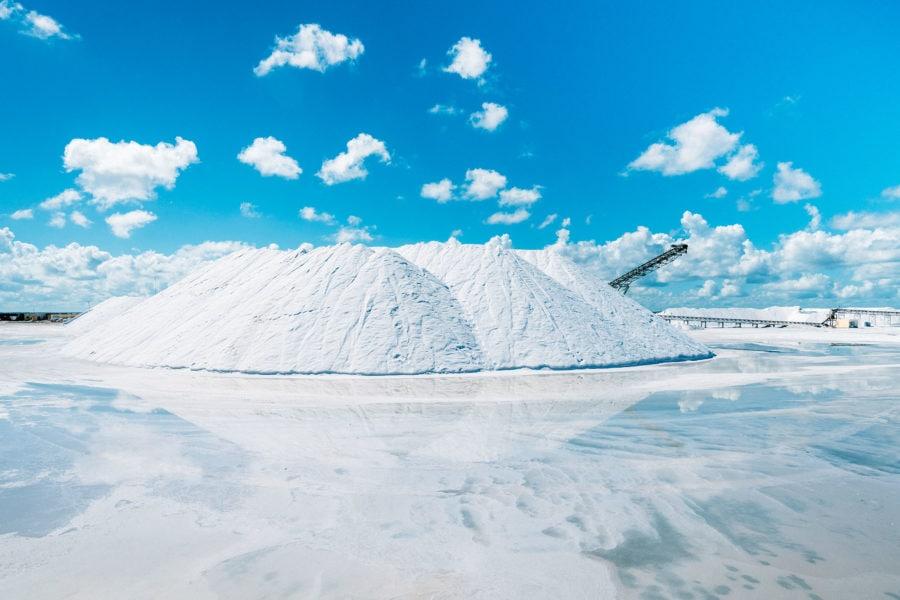 Las Coloradas Salt Factory
