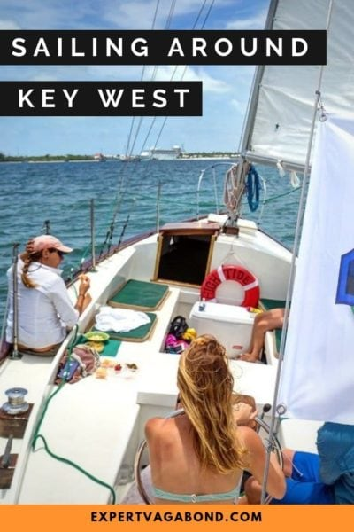 Learning to sail in Key West, Florida. #Keywest #Sailing #Florida