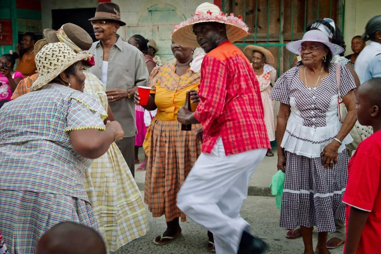 Livingston Guatemala Dancing People