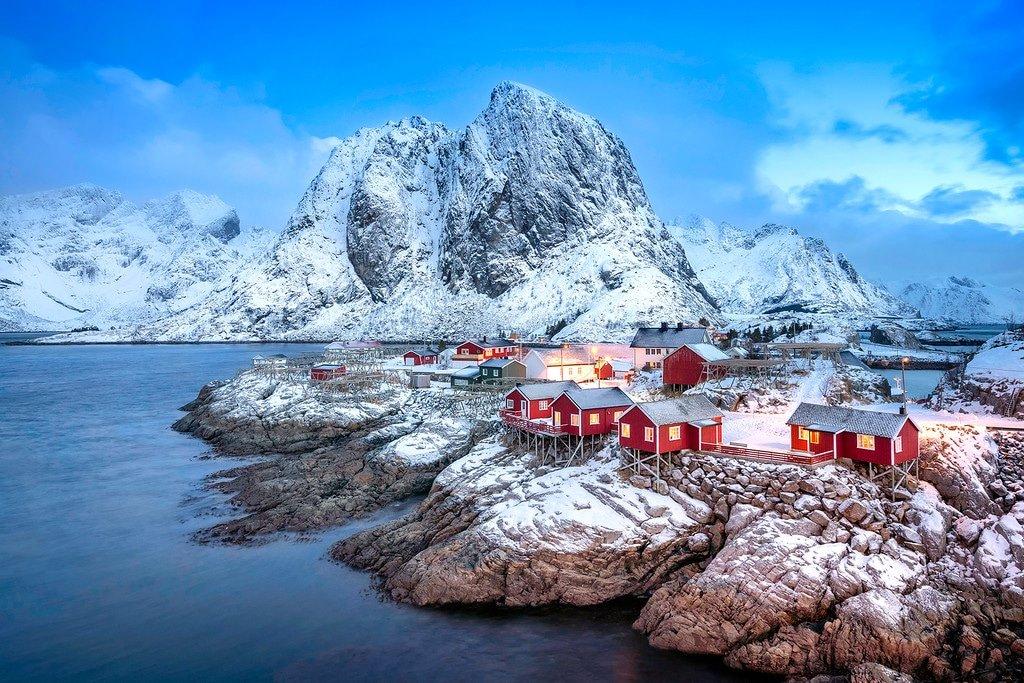Hamnoy Lofoten Islands