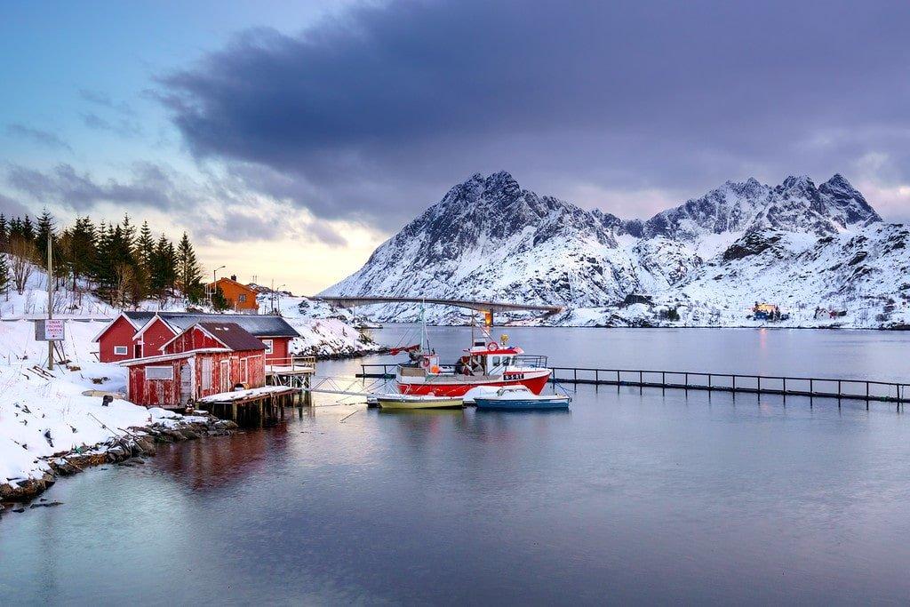 Lofoten Islands Sunsets