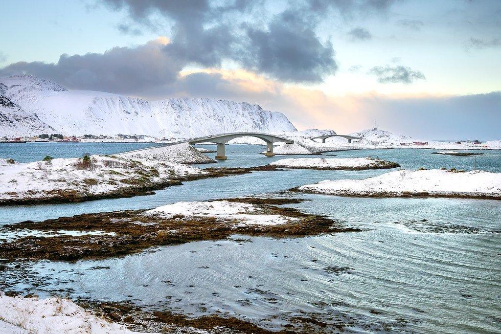 Lofoten Islands Bridge