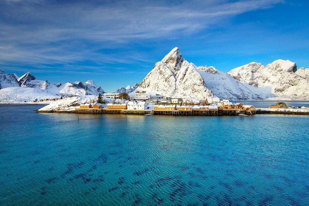 Lofoten Islands Sakrisoy