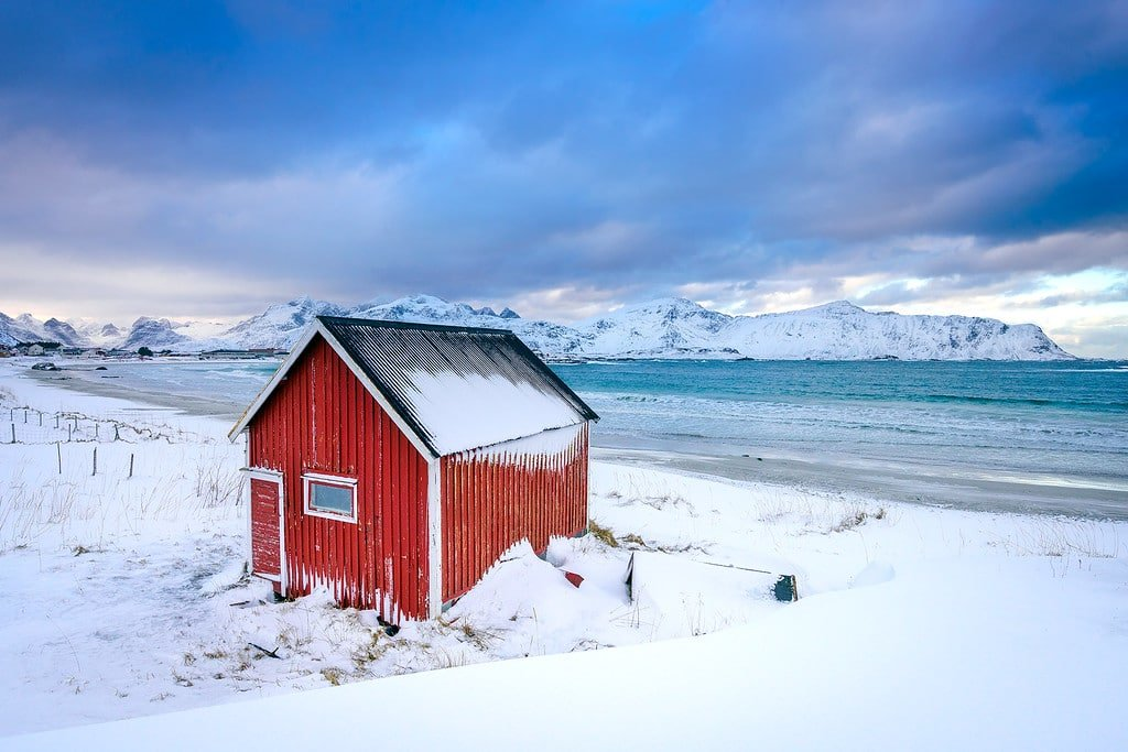 Lofoten Islands Rambergstranda