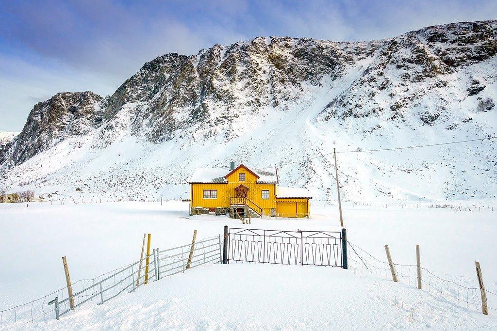 Winter Fishing Huts