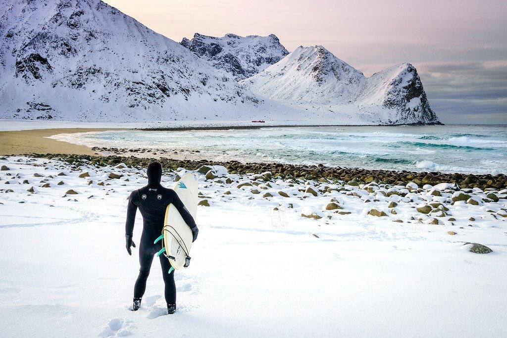 Lofoten Islands Surfing