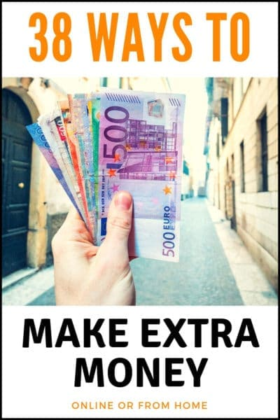 38 Creative Side Hustles To Make Extra Money This Year. Learn how to work from home or online for extra cash!