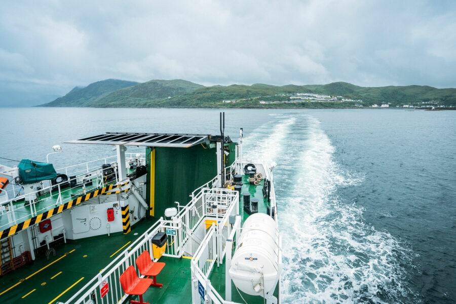 Mallaig Ferry Boat