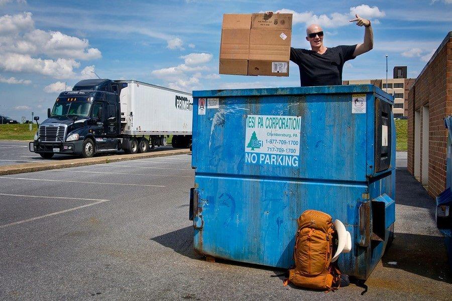 maryland dumpster diving