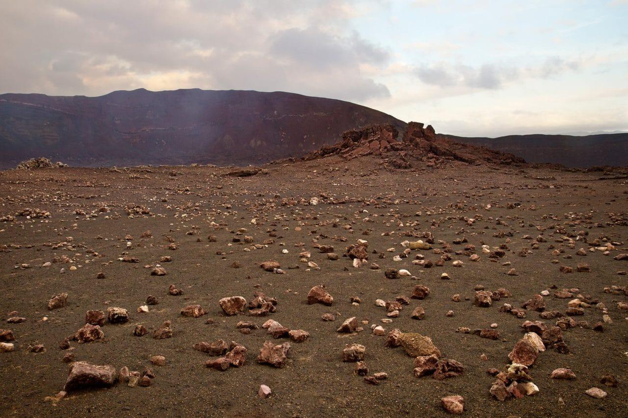 Masaya Nicaragua Volcano Rocks