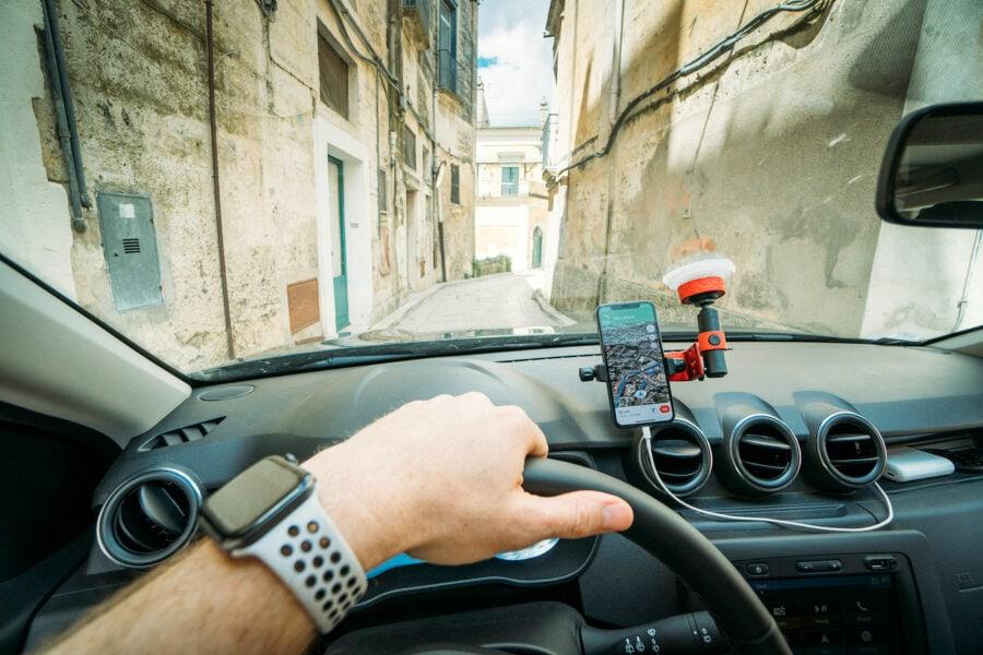 Conducir en Matera