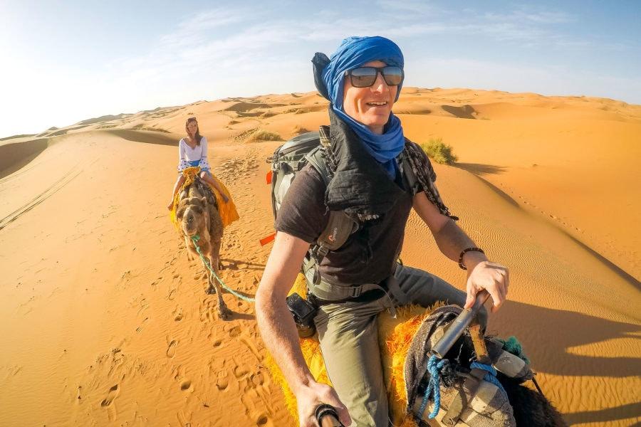 Matthew Karsten in Morocco