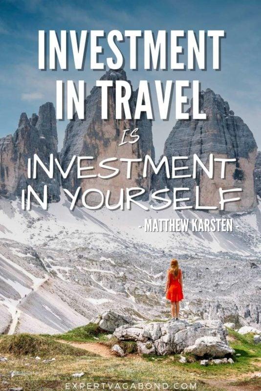 Matthew Karsten Travel Quote