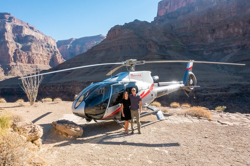 Landing in the Grand Canyon