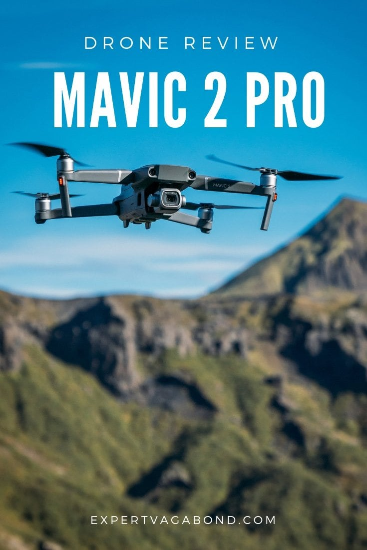 DJI Mavic 2 Pro review for travel photographers. More at ExpertVagabond.com