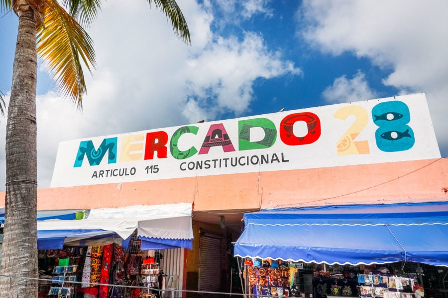 Market in Downtown Cancun