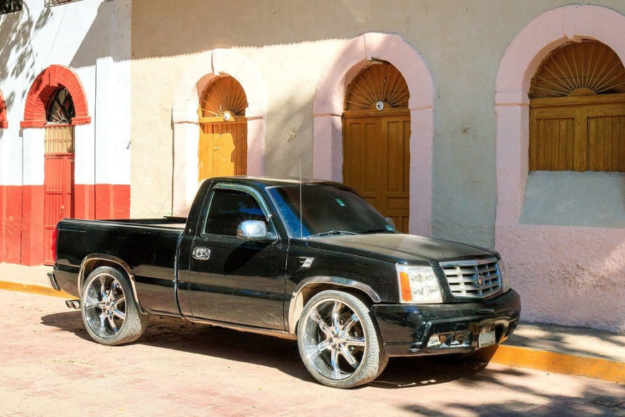 One of the Cartel's Trucks