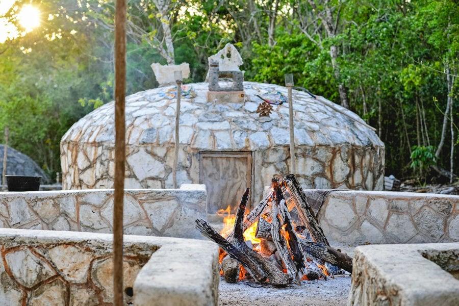 Traditional Temazcal Sauna