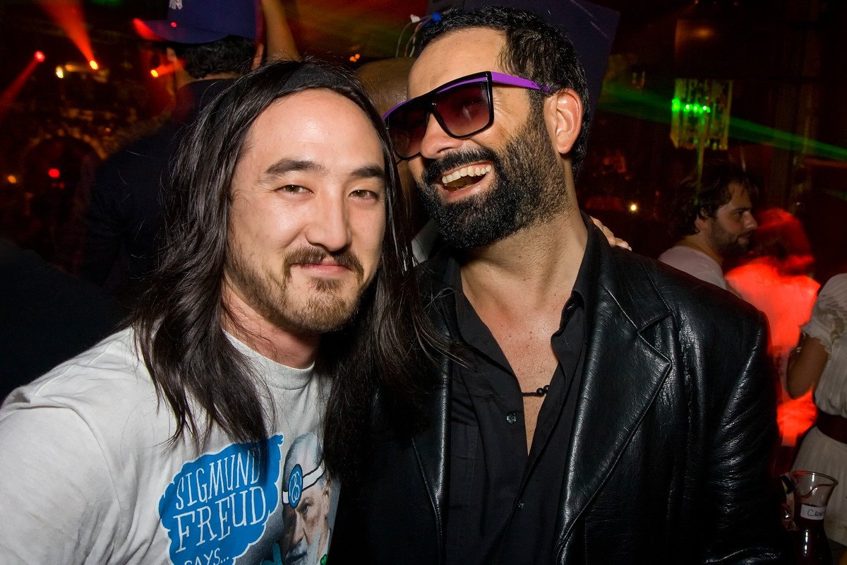 Steve Aoki & Roman Jones South Beach Miami