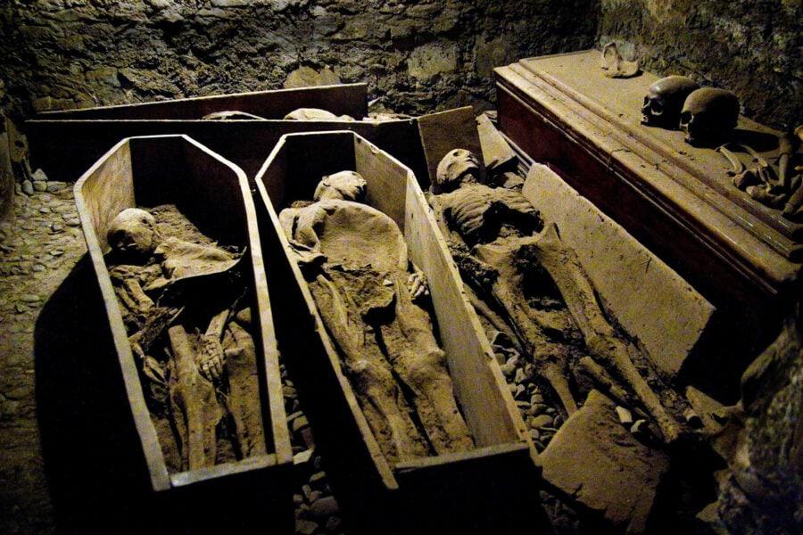 Mummies at St Michan's Church