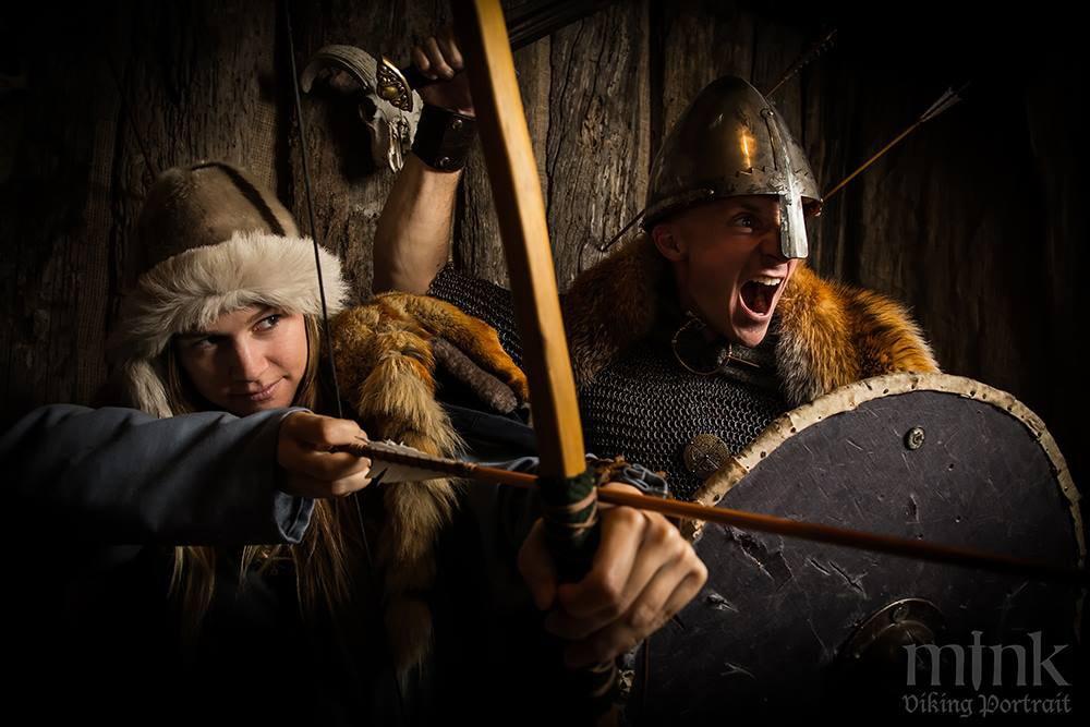 Viking Portraits in Reykjavik