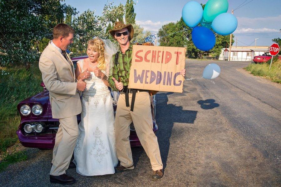montana hitchhiking wedding