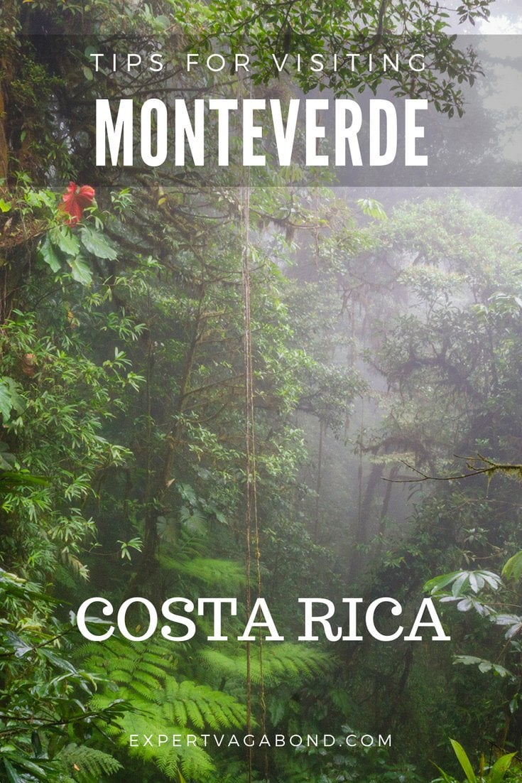 Tips for visiting Monteverde in Costa Rica. More at ExpertVagabond.com
