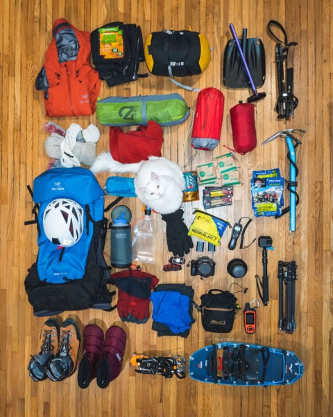 Mt Whitney Packing Gear