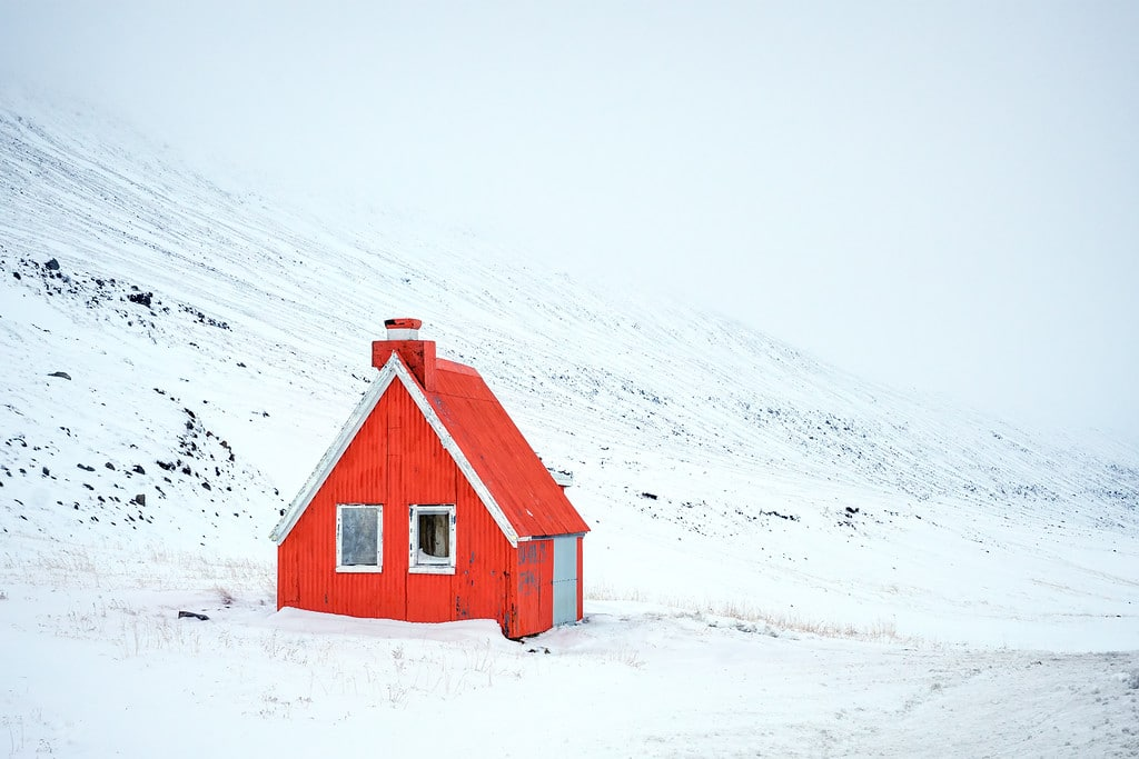 Iceland Mountain Cabin