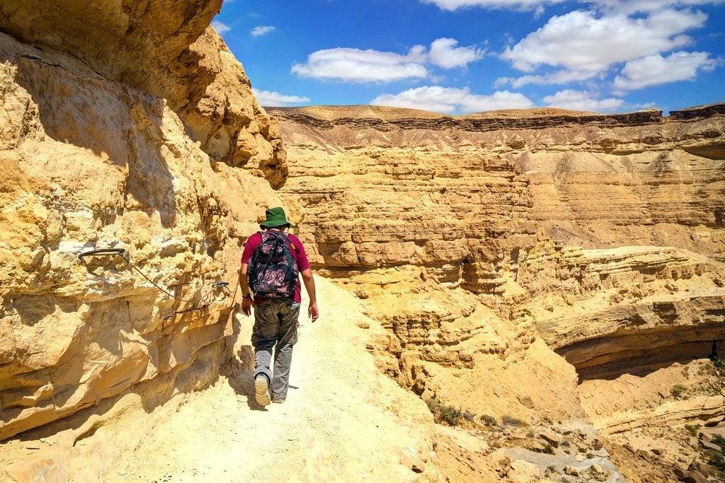 Wadi Canyon Negev Desert