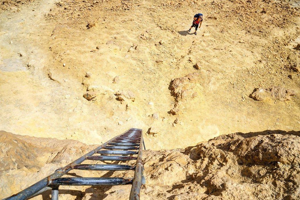 Palmah Ascent Negev Desert