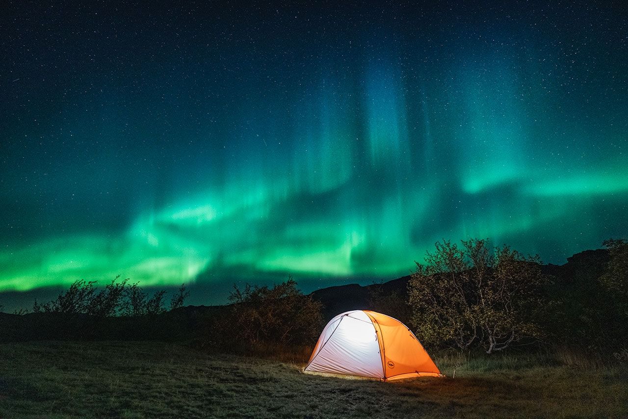 Northern Lights Photos in Iceland