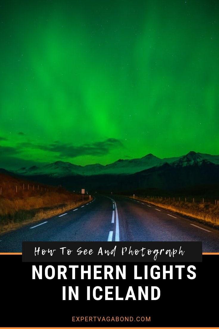 Northern Lights in Iceland. More at ExpertVagabond.com