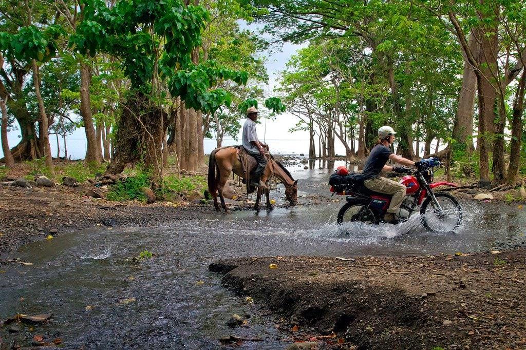 Ometepe Nicaragua Dirt Biking