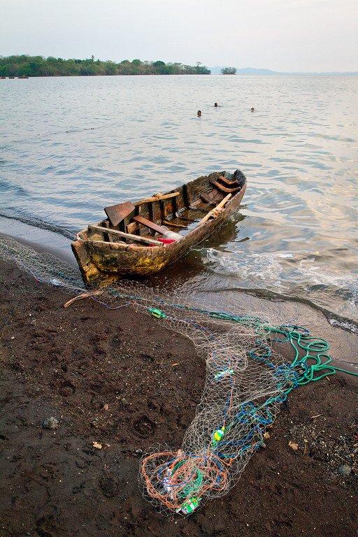 Ometepe Nicaragua Fishing Net